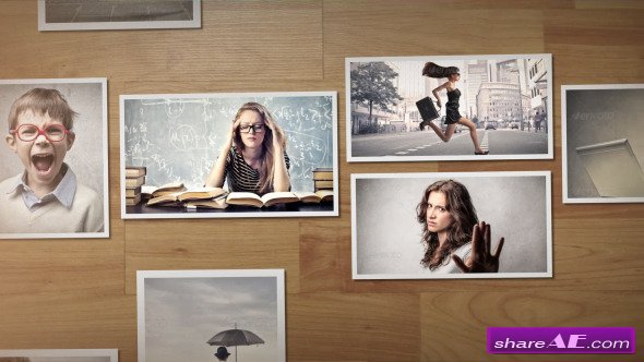 Parallax scrolling slideshow after effects project (videohive.