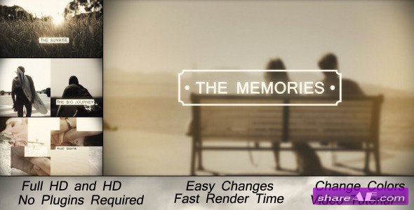 Memories Slideshow After Effects Project Videohive - Ae slideshow template free
