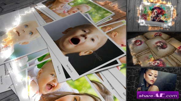 A Touch Of Colour - Adaptive Photo Gallery - After Effects Project (Videohive)