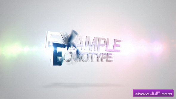 Logo With Flare - After Effects Project (Videohive)