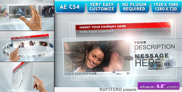Touch Screens - After Effects Project (Videohive)