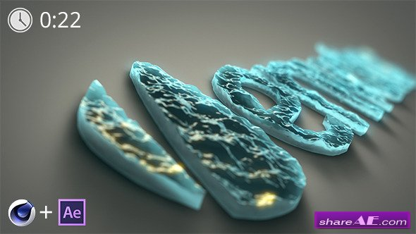 Water Logo Reveal After Effects Project Videohive