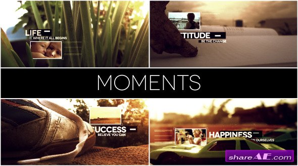 Moments - After Effects Project (Videohive)