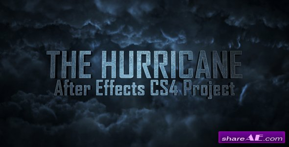 The Hurricane Titles - After Effects Project (Videohive)