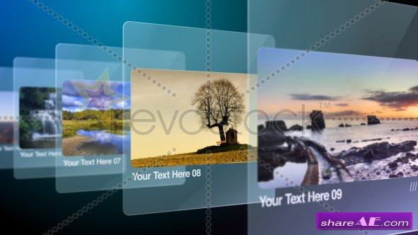Glass Slides 775488 - After Effects Project (RevoStock)