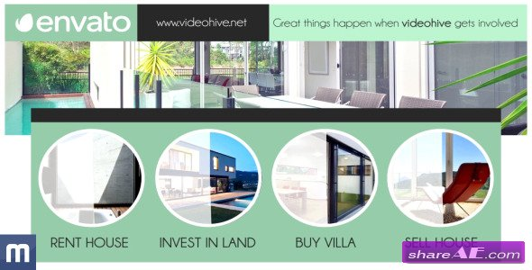 Real Estate Promotion - After Effects Project (Videohive)