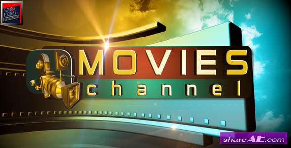 Movies Channel Broadcast Package - After Effects Project (Videohive)