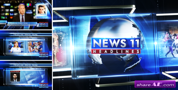 TV Broadcast News Packages - After Effects Project (Videohive ...