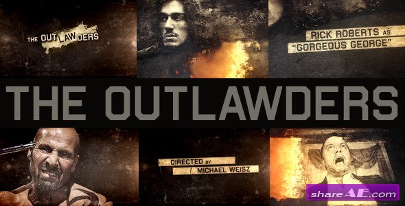The Outlawders - After Effects Project (Videohive)