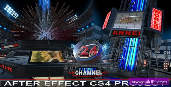Broadcast Design TV Opener - After Effects Project (Videohive)