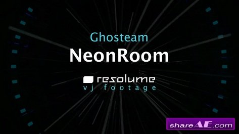 VJ Footage: NeonRoom (Resolume)