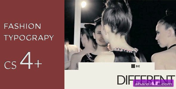 Fashion Typography - After Effects Project (Videohive)
