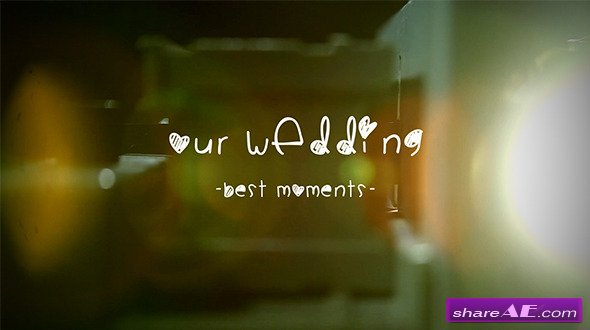 Wedding Al Slide Projector After Effects Project Videohive Free Templates