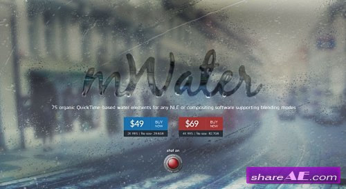 mWater: 75 Organic Water Elements H.264 (motionVFX)