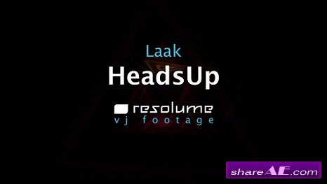 VJ Footage: HeadsUp (Resolume)