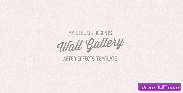 Photo Gallery V.3 - After Effects Project (Videohive)