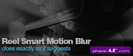 ReelSmart MotionBlur Pro v5.0.1 for After Effects - WIN64 (REVisionFX)