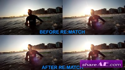 RE:Match v1.3.5 for After Effects (REVisionFX)