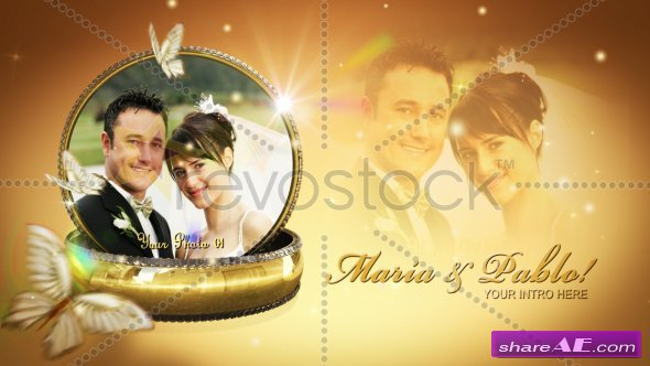 Wedding Rings Montage V2 - After Effects Project (RevoStock)