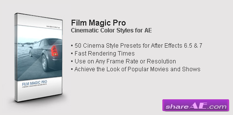 Video Copilot - Film Magic Pro