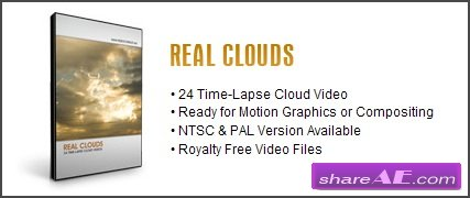 Video Copilot - Real Clouds