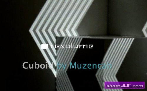 VJ Footage: Cuboid (Resolume)