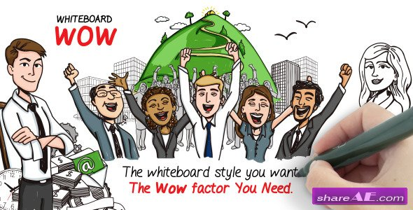Whiteboard Wow - After Effects Project (Videohive)