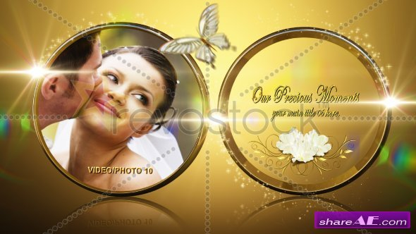 Our Royal Rings Wedding - After Effects Project (RevoStock)