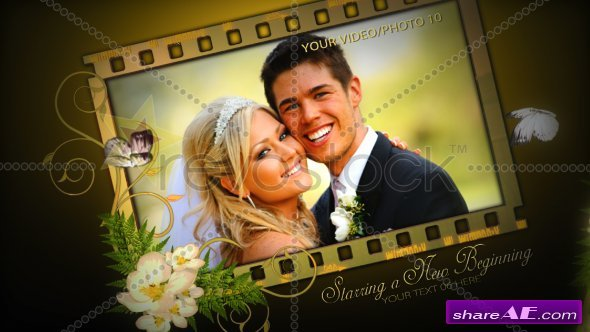 Our Wedding Film Memories - After Effects Project (RevoStock)