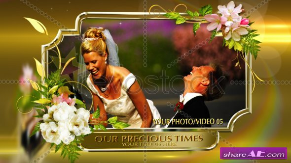 Rotating Photos Wedding Montage - After Effects Project (RevoStock)