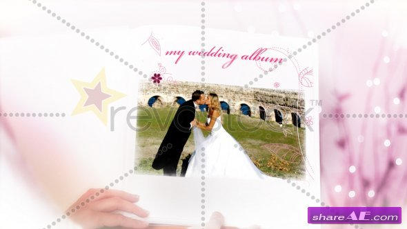 Wedding Photo Album Live Video - After Effects Project (RevoStock)