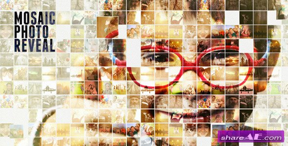 videohive simple mosaic free after effects templates after