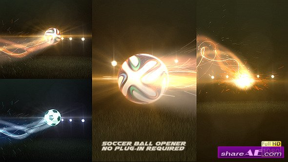 Soccer Ball Opener - After Effects Project (Videohive)