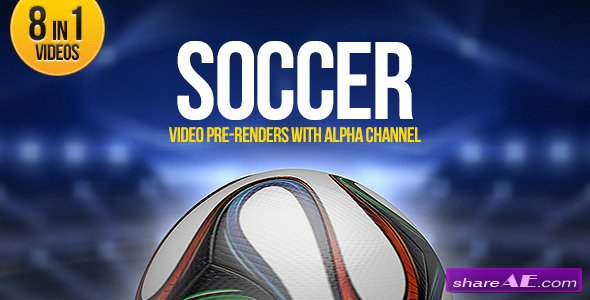 Soccer Ball Brazil 8in1 - Motion Graphic (Videohive)