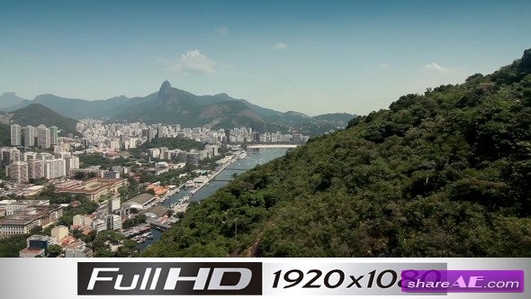Brazil Aerial View Rio De Janeiro 1 - Stock Footage (Videohive)