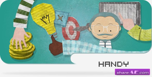 Handy - Animated Promotional And Explaining Kit - After Effects Project (Videohive)