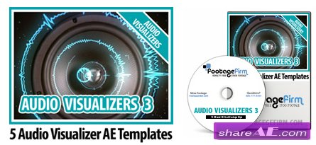 Footage Firm - Audio Visualizers Vol 3 - After Effects