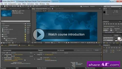After Effects Guru: Faster Previews and Rendering (Lynda)