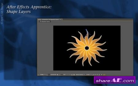 After Effects Apprentice 14: Shape Layers (Lynda)