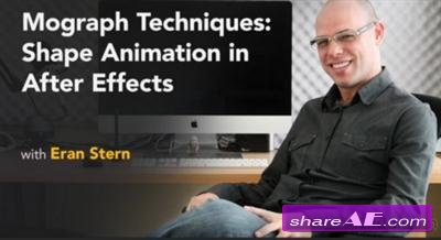 Mograph Techniques: Shape Animation in After Effects (Lynda)