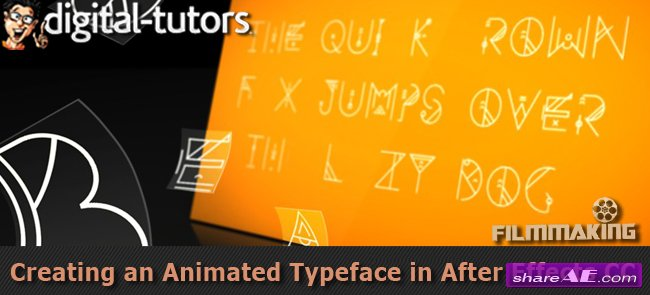Creating an Animated Typeface in After Effects CC (Digital Tutors)