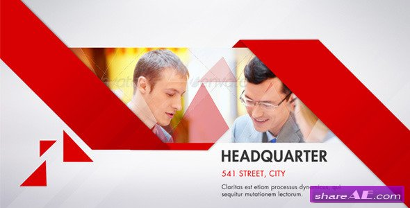 Clean Corporate - After Effects Project (Videohive)