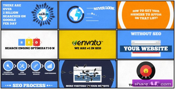 SEO Promotion V.2 - After Effects Project (Videohive)