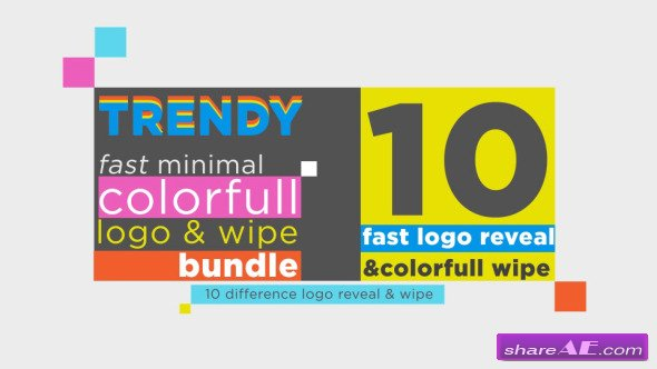 Fast Logo Reveal And Wipe Bundle - After Effects Project (Videohive)