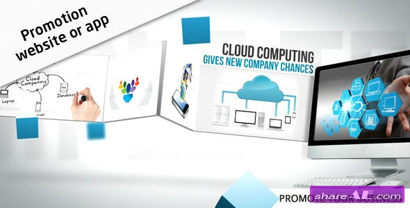 Promotion Website / App - After Effects Project (Videohive)