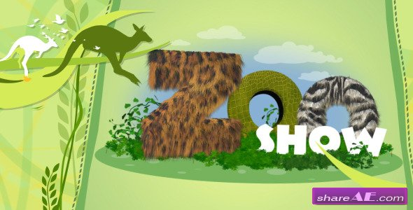 Zoo Show - Tv Pack - After Effects Project (Videohive)