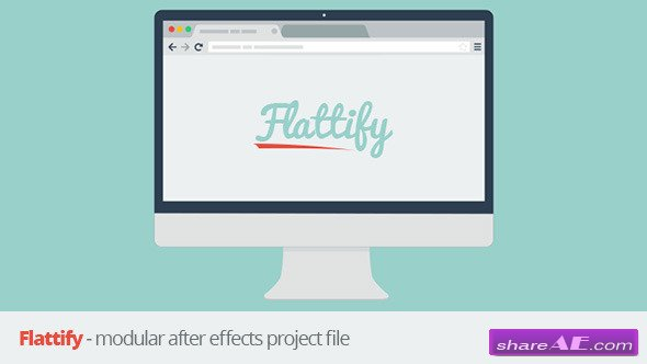 Flattify - Modular - After Effects Project (Videohive)