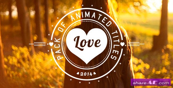 Love Titles - After Effects Project (Videohive)