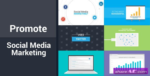 Promote - Social Media Marketing - After Effects Project (Videohive)