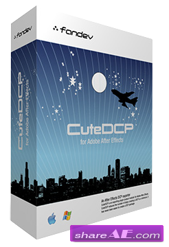 FanDev CuteDCP v1.7.5 for After Effects